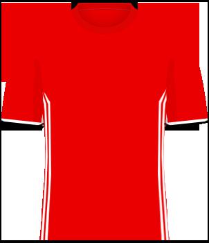 Czerwona koszulka reprezentacji Armenii