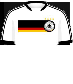 Biała koszulka reprezentacji Niemiec