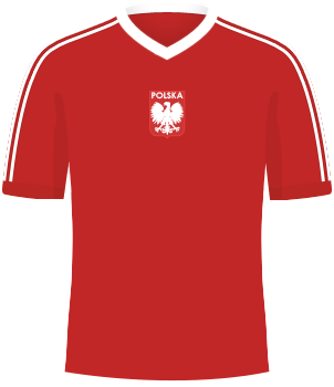 Koszulka Polski z IO 1976
