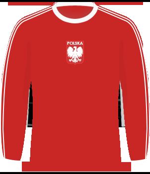 Koszulka Polski z MŚ 1978 i eliminacji