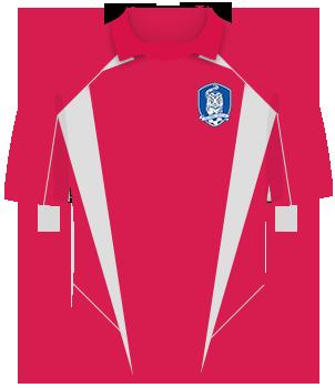 Koszulka Korea Płd. 2002