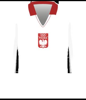 Polska, koszulka 1972