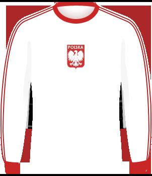 Polska, koszulki eliminacje 1978