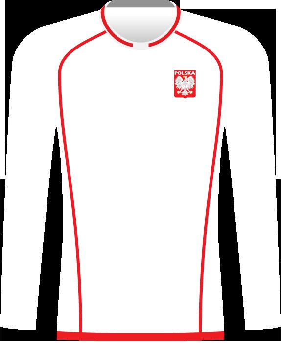 Koszulka Polski 2002 (np. mecz z Łotwą w Warszawie)