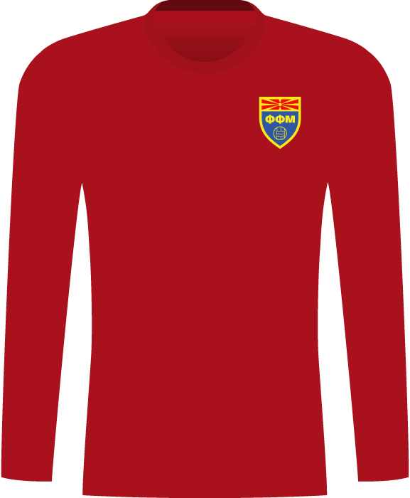 Koszulka Macedonii (mecz towarzyski 2003)