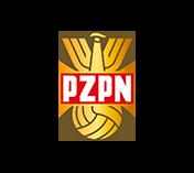 LOGOTYP PZPN Z LAT 70-80.