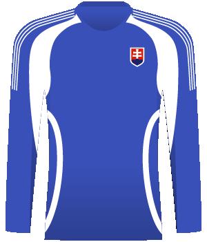 Niebieska koszulka reprezentacji Słowacji z eliminacji MŚ 2010.