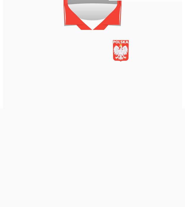 Biała koszulka Polski