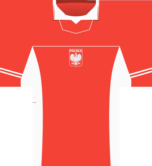 Czerwona koszulka Polski