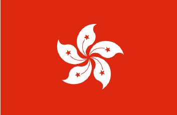 Flaga Hong Kongu