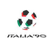 Logo mistrzostw świata 1990.