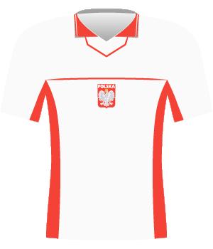 Koszulka Polski z 1998 roku.