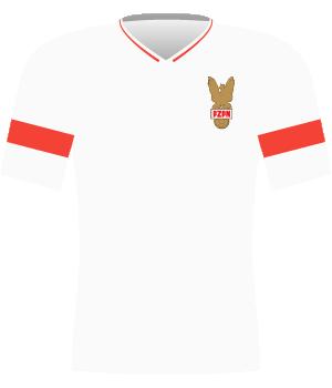 Koszulka Polski z 1992 roku.