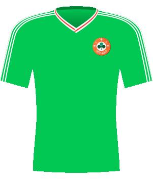 Koszulka Irlandii z el. ME 1992.