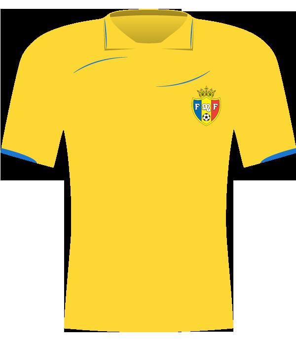 Żółta koszulka Mołdawii