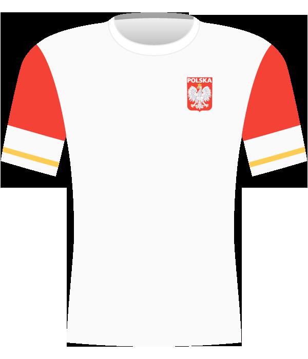 Koszulka reprezentacji Polski z 2011 roku.