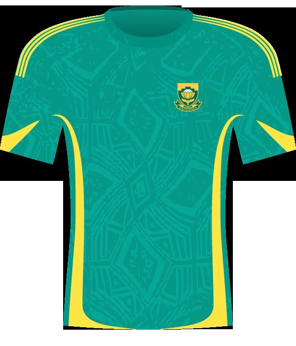 Koszulka RPA z 2009 roku.