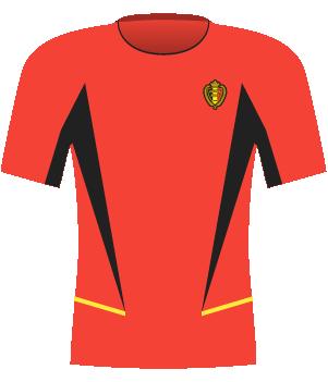 Koszulka Belgii z 2003 roku.