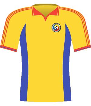 Koszulka Rumunii z 2002 roku.
