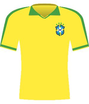 Koszulka Brazylii z 1997 roku.
