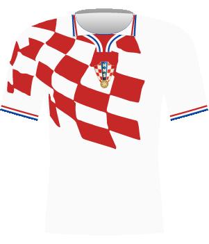 Koszulka Chorwacji z 1998 roku.
