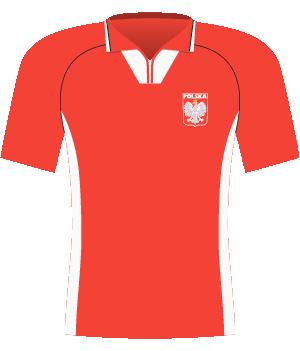 Koszulka Polski z 2000 roku (mecz z Finlandią)