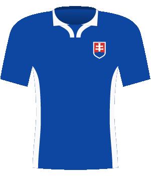 Koszulka Słowacji z 1998 roku.