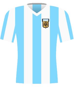 Koszulka Argentyny z 1980 roku