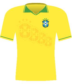 Koszulka Brzylii z 1995 roku