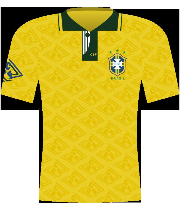 Koszulka Brazylii z 1993 roku.