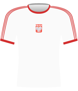 Koszulka Polska 1977