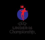 Logo mistrzostw Europy do lat 16 1999.