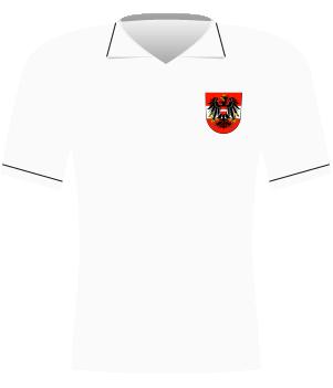Koszulka Austrii z 1992 roku