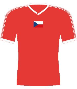 Koszulka Czechosłowacji z 1991 roku.