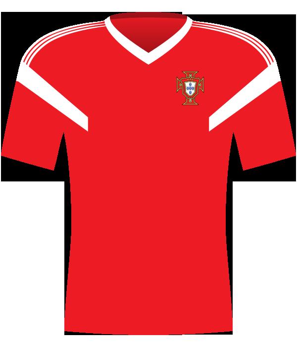 Koszulka Portugalii z 1990 roku.