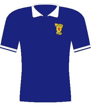 Koszulka Szkocji z 1990 roku.