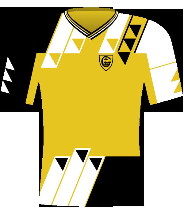 Koszulka GKS-u Katowice z 1993 roku.