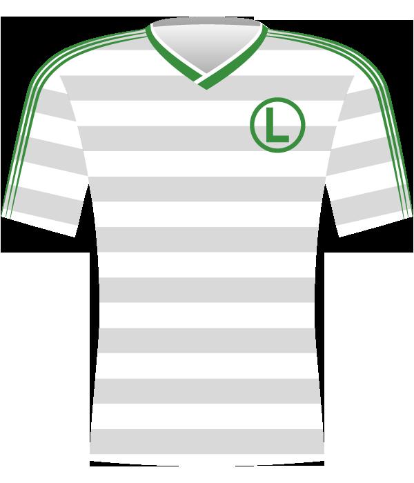 Koszulka Legii Warszawa 1989.