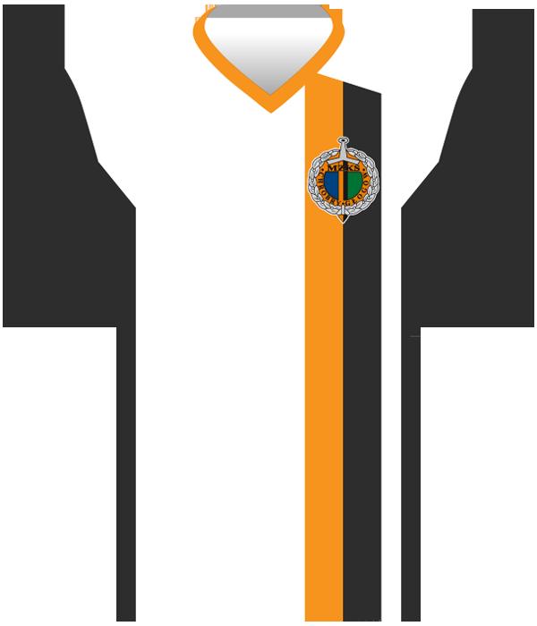 Koszulka Chrobrego Głogów (2018/19).