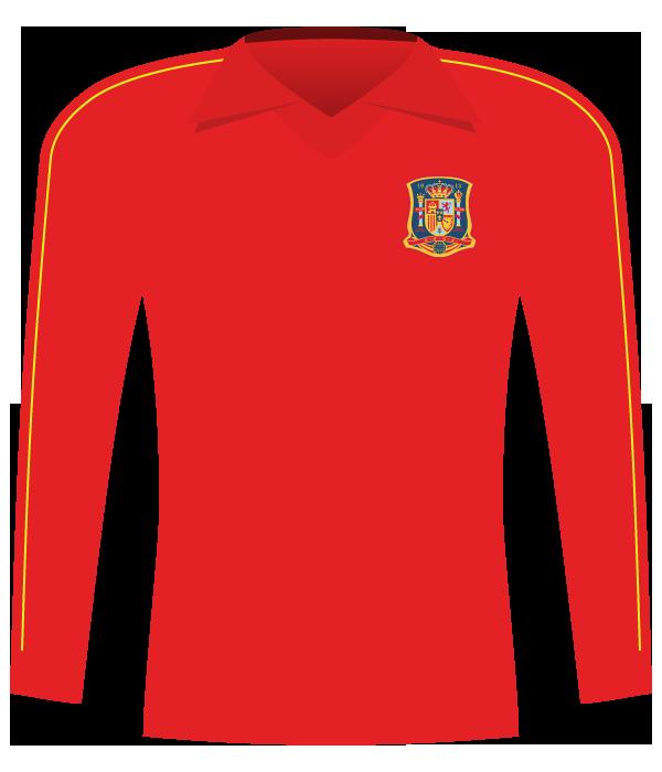 Koszulka Hiszpania z 1986 roku.