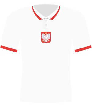 Koszulka Polski z 2020 roku.