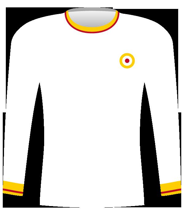 Koszulka AS Roma z 1970 roku.