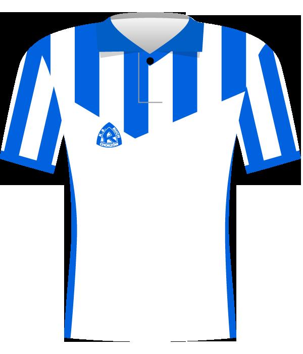 Koszulka Ruchu Chorzów z 1996 roku.