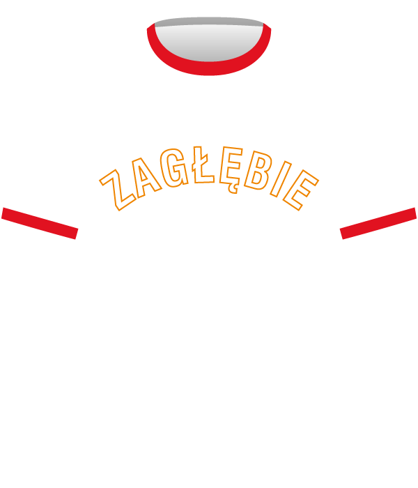 Koszulka Zagłębia Sosnowiec z 1978 roku.