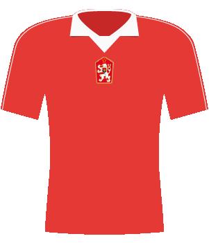 Koszulka Czechosłowacji z 1985 roku