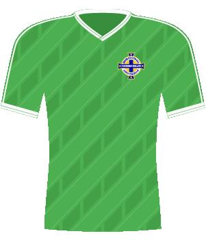 Koszulka Irlandii Północnej z 1988 roku