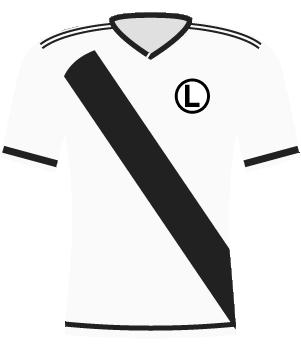 Koszulka Legii Warszawa z 2016 roku