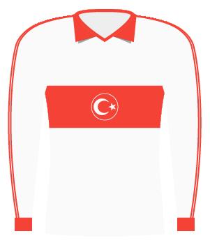 Koszulka Turcji z 1985 roku