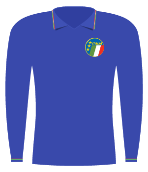 Koszulka Włoch z 1985 roku