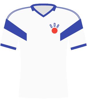 Koszulka NRD z 1988 roku